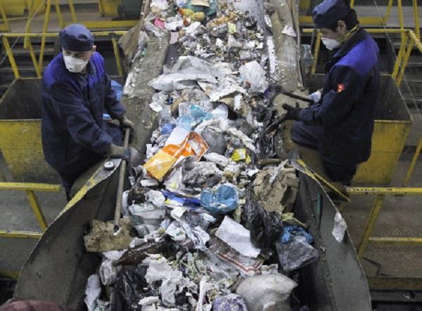 Переработка мусора в россии